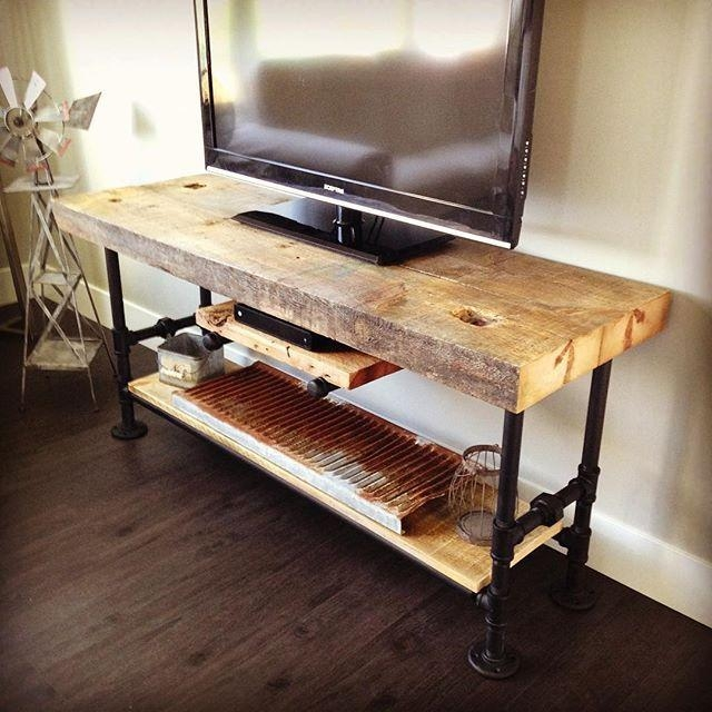 Best 25+ Industrial Tv Stand Ideas On Pinterest | Tv Table Stand Regarding Best And Newest Cast Iron Tv Stands (Image 5 of 20)