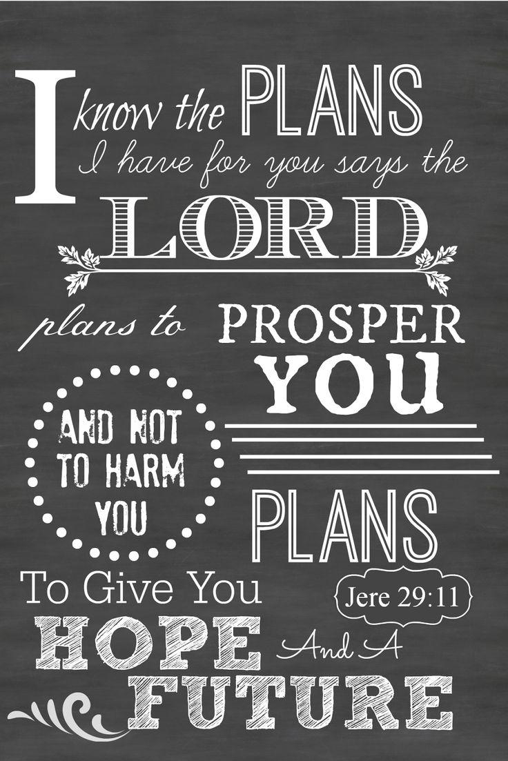 Best 25+ Jeremiah 29 11 Ideas On Pinterest | Jeremiah 11 With Regard To Jeremiah 29 11 Wall Art (View 2 of 20)