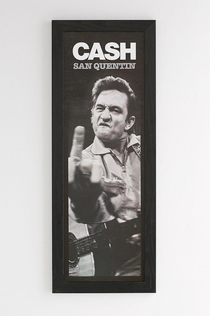 Best 25+ Johnny Cash Middle Finger Ideas On Pinterest | Fack Image Intended For Johnny Cash Wall Art (View 12 of 20)