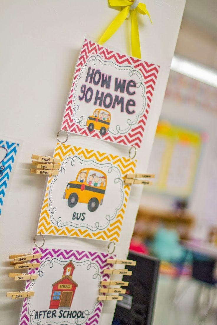 Best 25+ Kindergarten Classroom Decor Ideas On Pinterest Within Wall Art For Kindergarten Classroom (View 5 of 20)