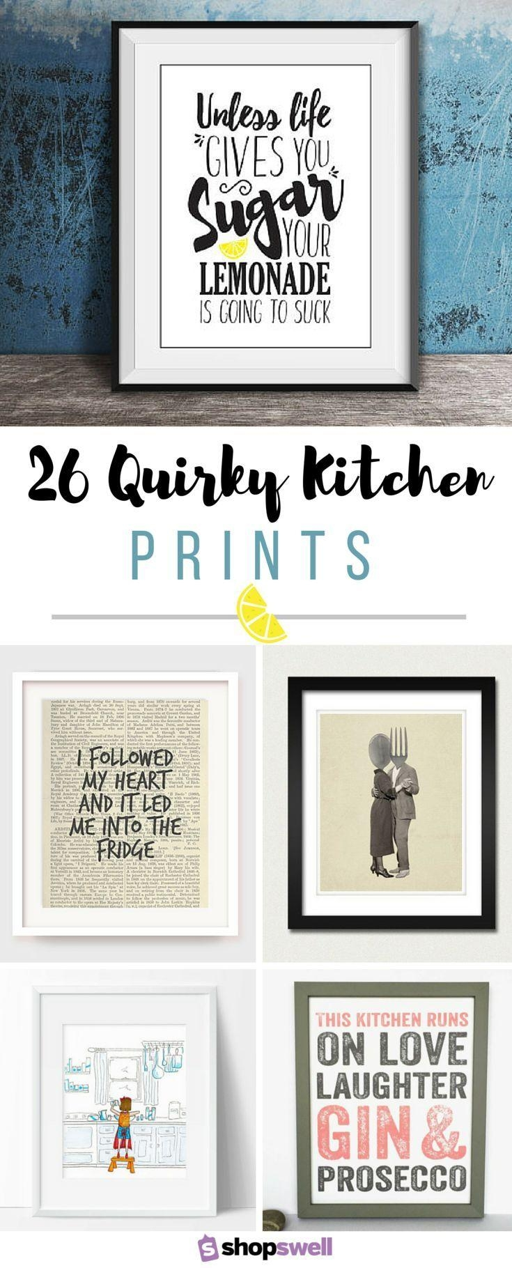 Best 25+ Kitchen Wall Art Ideas On Pinterest | Kitchen Art Regarding Art For Kitchen Walls (View 7 of 20)