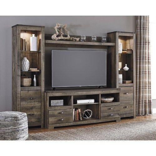 Best 25+ Large Tv Stands Ideas On Pinterest | Mounted Tv Decor With Regard To 2017 Large Oak Tv Stands (View 8 of 20)
