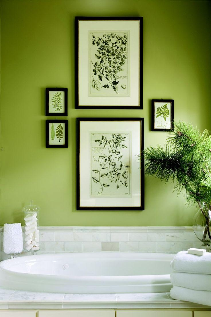 Best 25+ Lime Green Bathrooms Ideas On Pinterest | Green Painted Inside Wall Art For Green Walls (View 3 of 20)