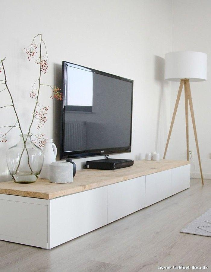 Best 25+ Long Tv Stand Ideas On Pinterest | Media Storage, Wall Pertaining To Most Recently Released Long Tv Cabinets Furniture (Image 5 of 20)