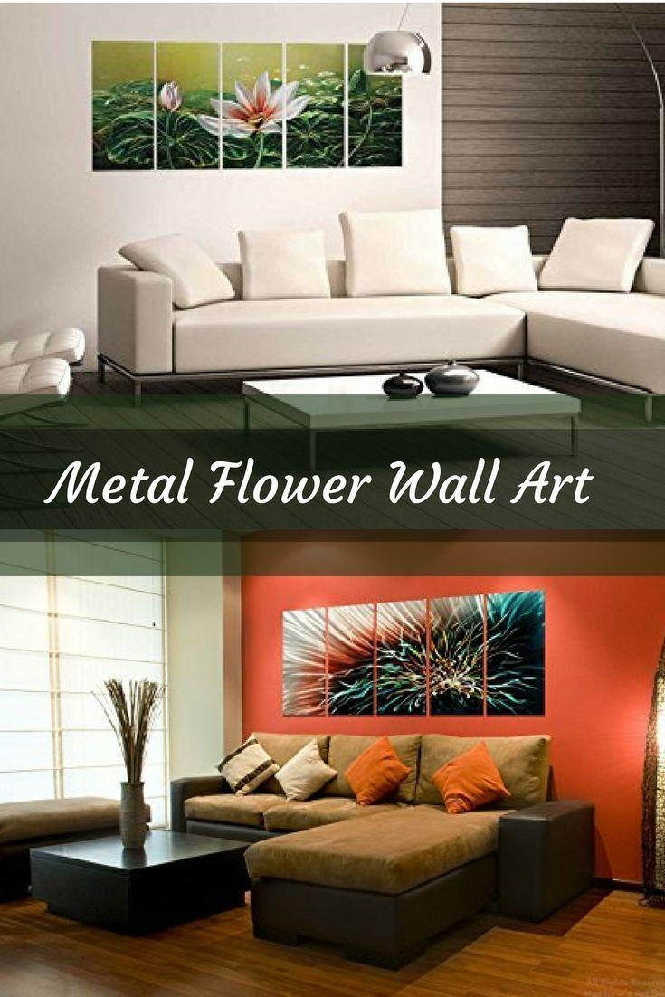 Best 25+ Metal Flower Wall Art Ideas On Pinterest | Metal Garden Inside Stylecraft Home Collection Wall Art (View 16 of 20)
