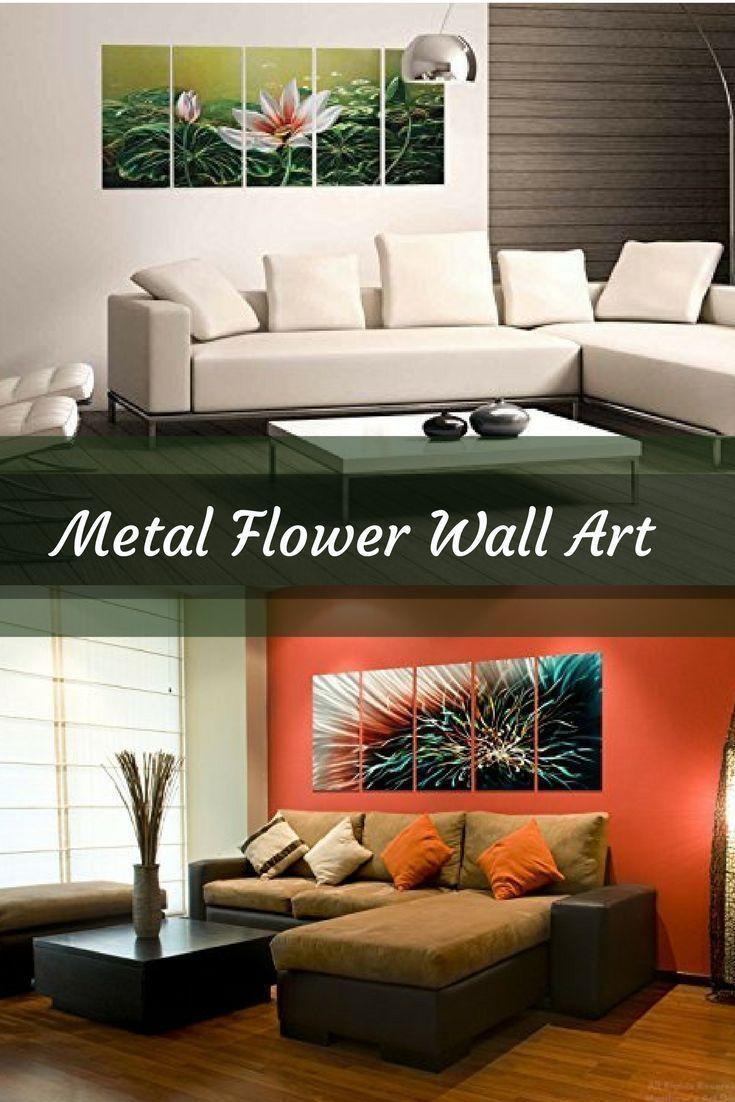 Best 25+ Metal Flower Wall Art Ideas On Pinterest | Metal Garden Inside Stylecraft Home Collection Wall Art (Photo 16 of 20)