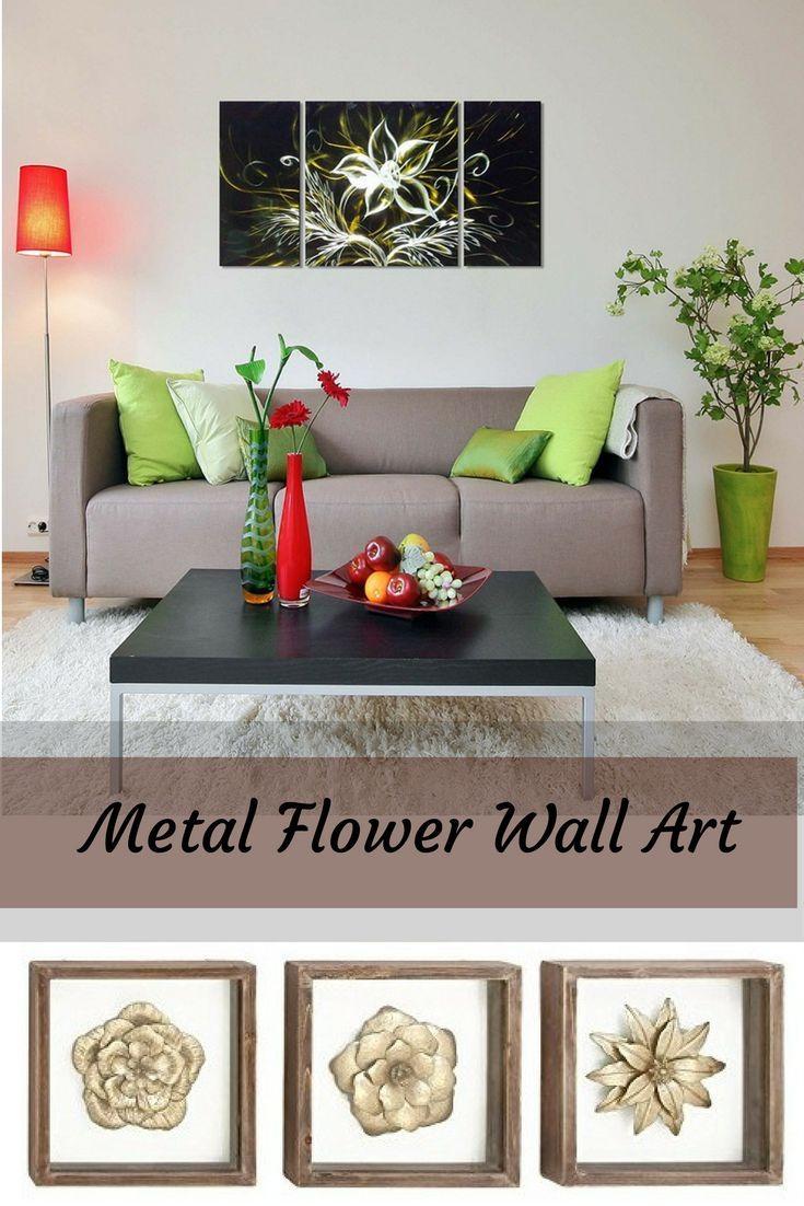 Best 25+ Metal Flower Wall Art Ideas On Pinterest | Metal Garden Pertaining To Stylecraft Home Collection Wall Art (Image 2 of 20)