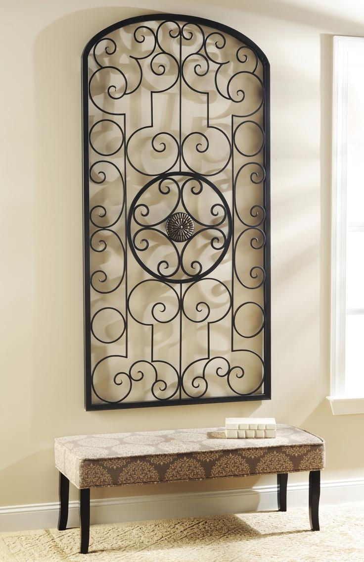 Best 25+ Metal Scroll Wall Art Ideas On Pinterest Pertaining To Iron Art For Walls (View 10 of 20)