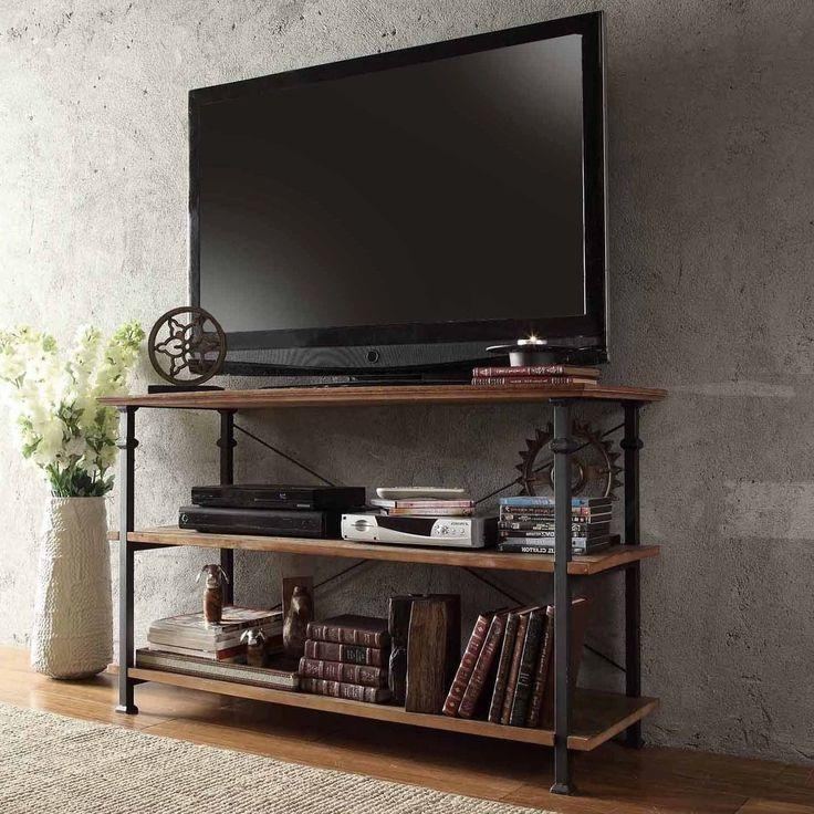 Best 25+ Metal Tv Stand Ideas On Pinterest | Entertainment System Within Recent Reclaimed Wood And Metal Tv Stands (Image 5 of 20)
