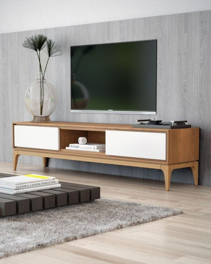 Best 25+ Modern Tv Stands Ideas On Pinterest | Ikea Tv Stand, Wall Intended For Latest Modern Wooden Tv Stands (Image 6 of 20)
