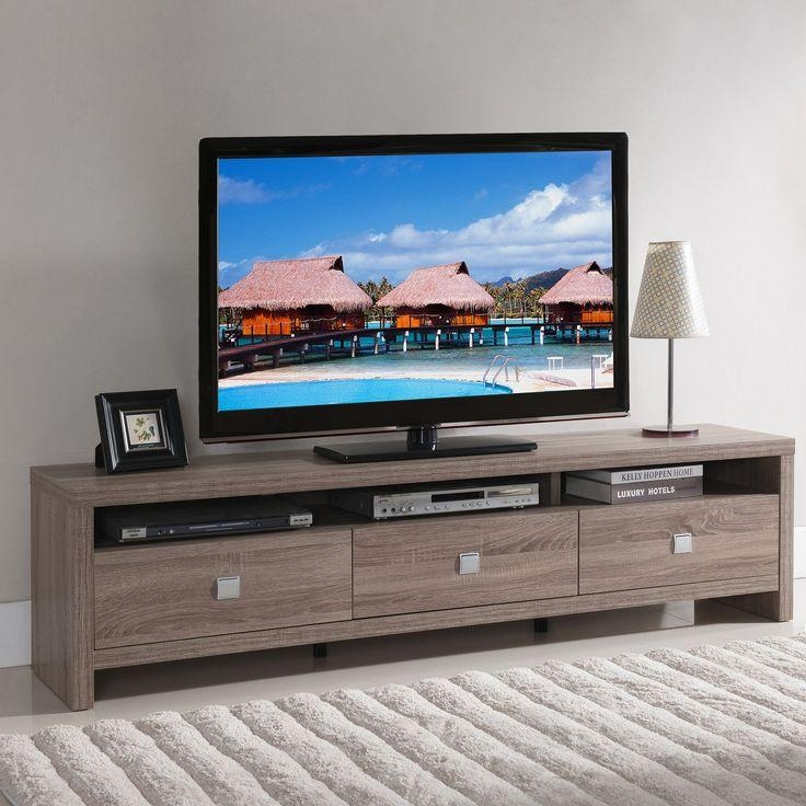 Best 25+ Modern Tv Stands Ideas On Pinterest | Ikea Tv Stand, Wall Pertaining To Most Up To Date Modern Style Tv Stands (Image 4 of 20)