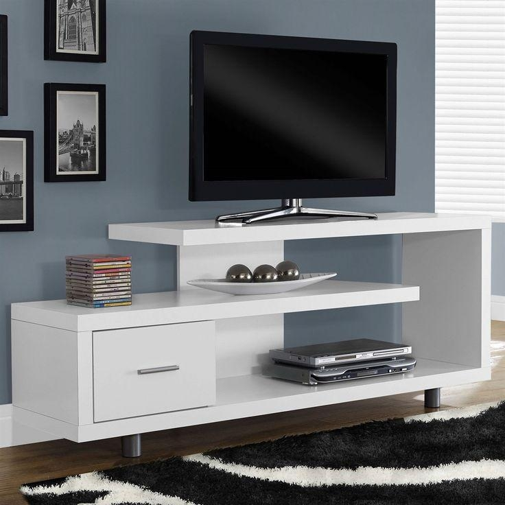 Best 25+ Modern Tv Stands Ideas On Pinterest | Ikea Tv Stand, Wall Regarding 2018 White Tv Stand Modern (Image 5 of 20)