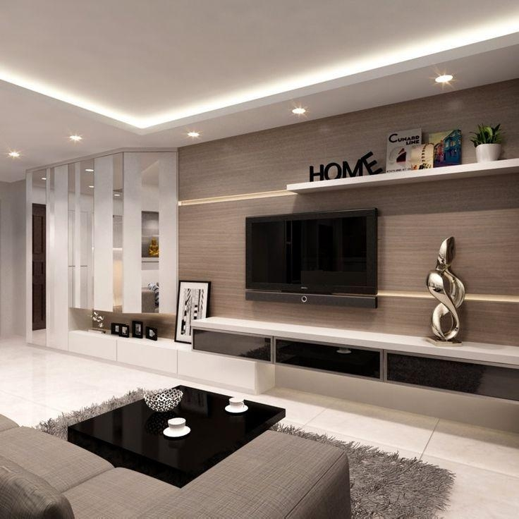 Best 25+ Modern Tv Units Ideas On Pinterest | Tv Unit Furniture Pertaining To Recent Tv Cabinets Contemporary Design (Image 8 of 20)