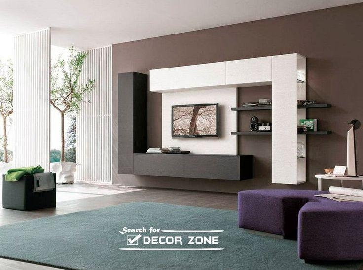 Best 25+ Modern Tv Units Ideas On Pinterest | Tv Unit Furniture Throughout Most Up To Date Modern Design Tv Cabinets (Image 6 of 20)
