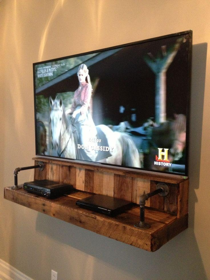 Best 25+ Mounted Tv Ideas On Pinterest | Mounted Tv Decor, Wall With Newest Console Under Wall Mounted Tv (View 9 of 20)