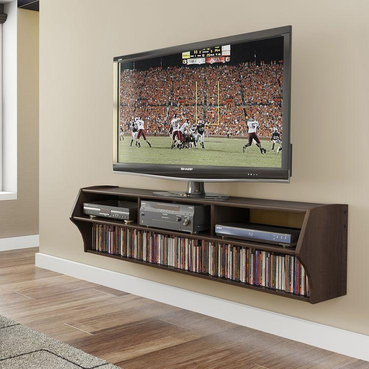 Best 25+ Mounting Tv On Wall Ideas On Pinterest | Hanging Tv On For Most Recent Off Wall Tv Stands (Image 4 of 20)
