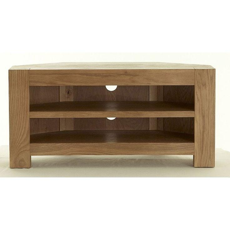 Featured Image of Small Oak Corner Tv Stands