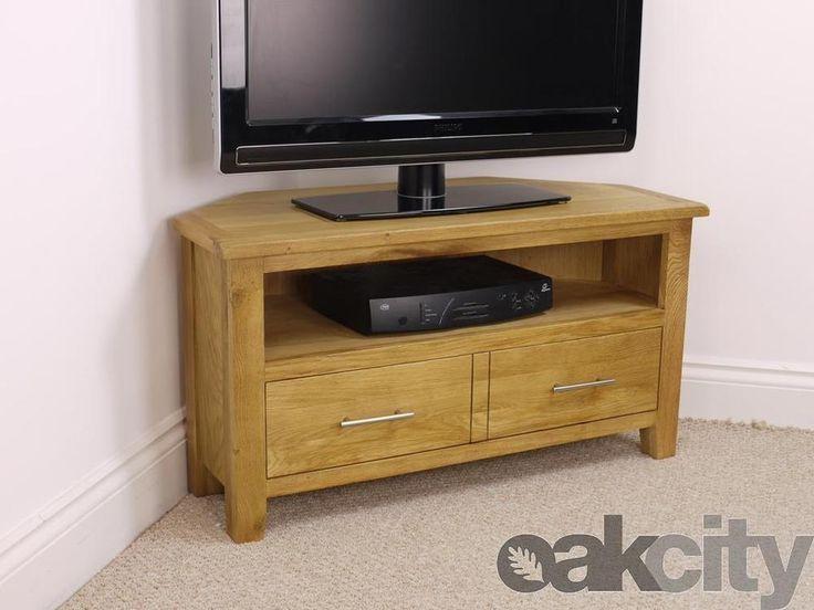 Best 25+ Oak Corner Tv Stand Ideas On Pinterest | Corner Tv Regarding 2017 Oak Corner Tv Stands (View 14 of 20)