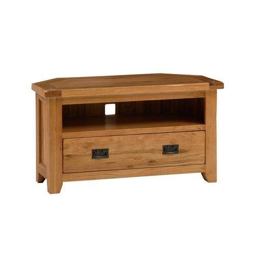 Best 25+ Oak Corner Tv Stand Ideas On Pinterest | Oak Tv Stands Intended For 2018 Dark Wood Corner Tv Stands (Image 7 of 20)