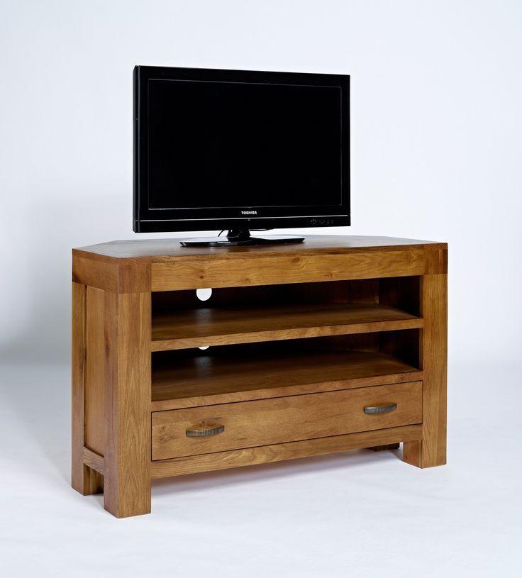 Best 25+ Oak Corner Tv Unit Ideas On Pinterest | Oak Corner Tv intended for Most Up-to-Date Chunky Oak Tv Unit