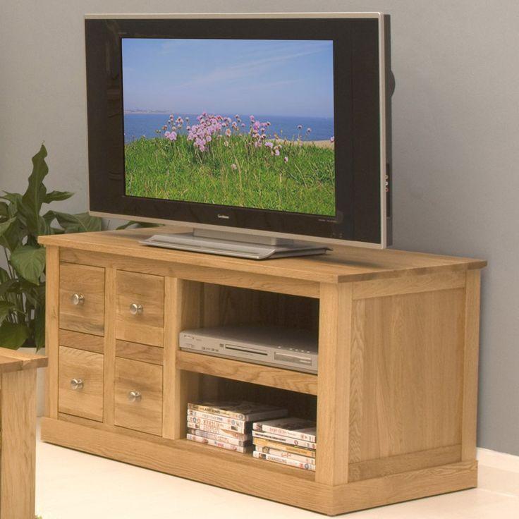 Best 25+ Oak Tv Cabinet Ideas On Pinterest | Metal Tv Stand With Regard To Current Santana Oak Tv Furniture (View 14 of 20)