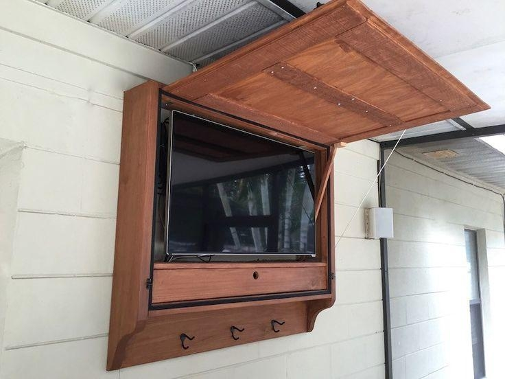Best 25+ Outdoor Tv Cabinets Ideas On Pinterest | Outdoor Tv Pertaining To Most Popular Beam Thru Tv Cabinet (Image 8 of 20)