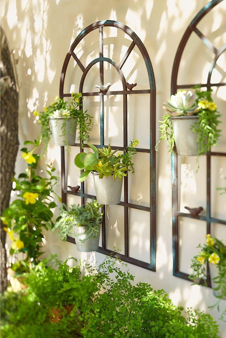 Best 25+ Outdoor Wall Decorations Ideas On Pinterest | Outdoor Intended For Italian Garden Wall Art (View 2 of 20)