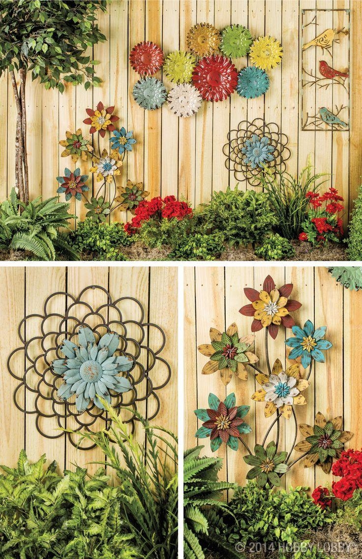Best 25+ Outdoor Wall Decorations Ideas On Pinterest | Outdoor Within Italian Garden Wall Art (View 13 of 20)