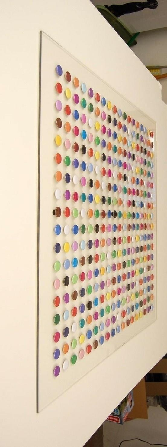 Best 25+ Paint Chip Art Ideas On Pinterest | Paint Sample Art With Regard To Paint Swatch Wall Art (Image 5 of 20)