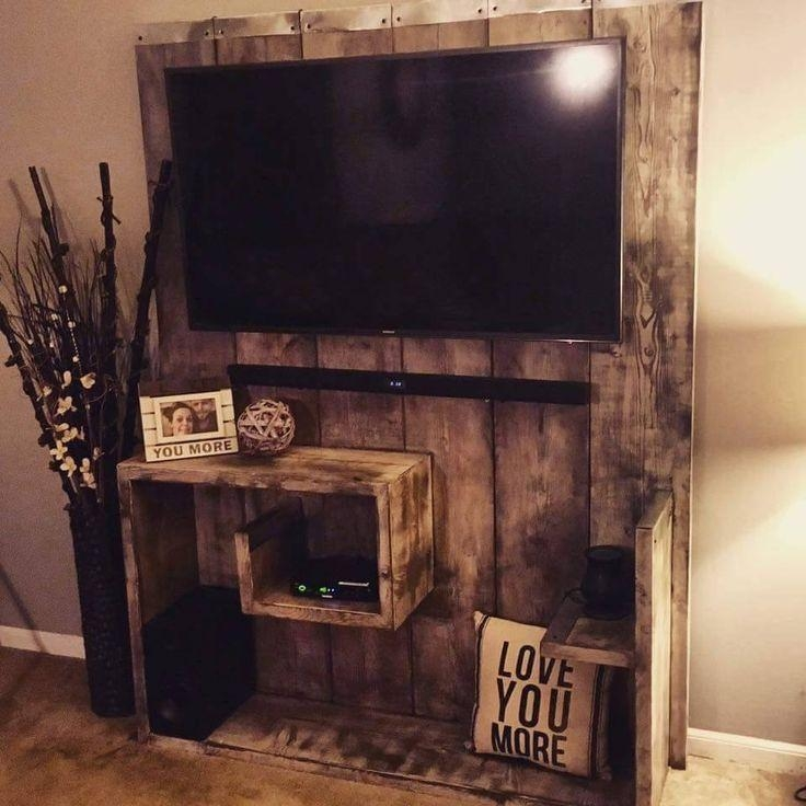 Best 25+ Pallet Entertainment Centers Ideas On Pinterest | Pallet With Regard To 2017 Wood Tv Entertainment Stands (View 3 of 20)