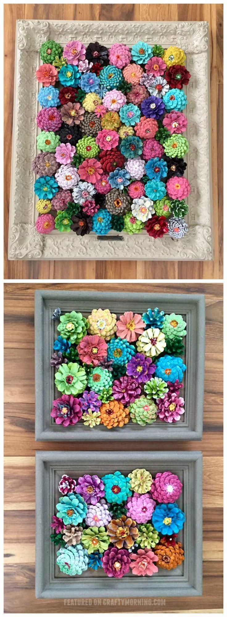 Best 25+ Pine Cone Art Ideas On Pinterest | Pinecone Crafts Kids With Pine Cone Wall Art (View 9 of 20)
