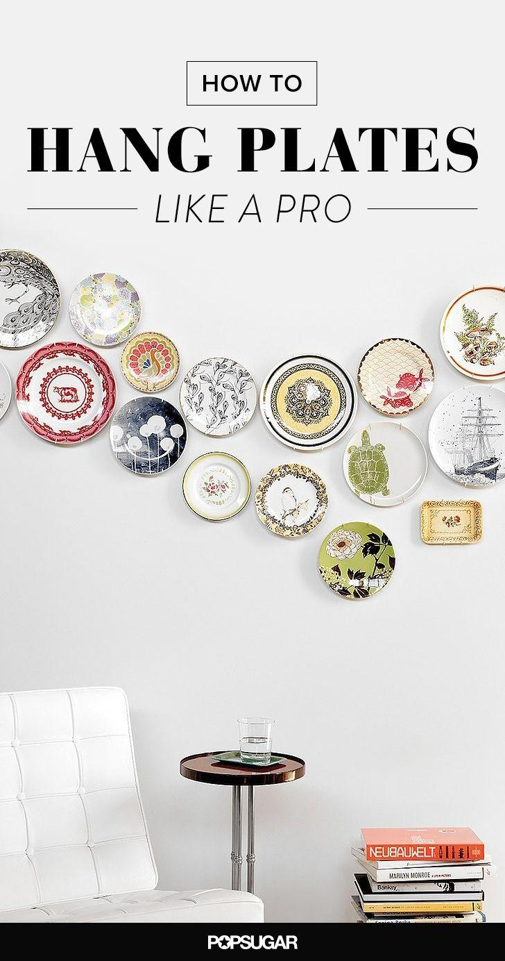 Best 25+ Plate Wall Decor Ideas On Pinterest | Plate Wall, Plates Intended For Decorative Plates For Wall Art (Image 5 of 20)