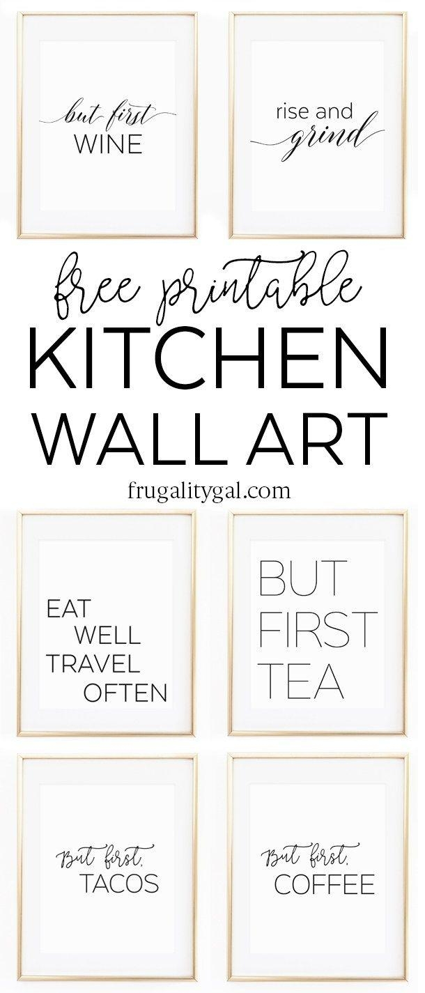 Best 25+ Printable Wall Art Ideas On Pinterest | Diy Framed Wall Throughout Framed Wall Art Sayings (Image 4 of 20)