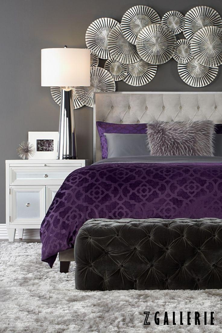 Best 25+ Purple Gray Bedroom Ideas On Pinterest | Purple Grey Regarding Purple Wall Art For Bedroom (Image 6 of 20)
