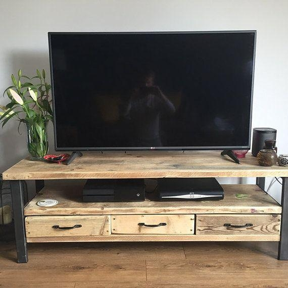 Best 25+ Reclaimed Wood Tv Stand Ideas On Pinterest | Rustic Wood Within Newest Recycled Wood Tv Stands (Image 7 of 20)