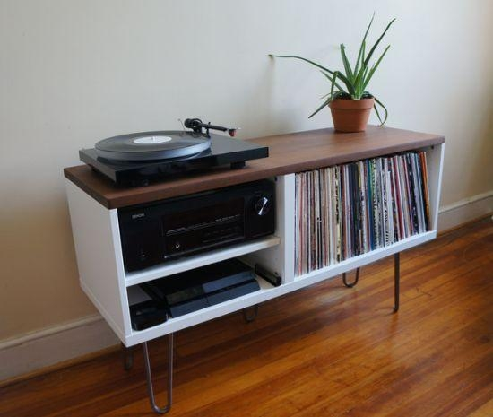 Best 25+ Record Player Console Ideas On Pinterest | Ikea Record With 2018 Turntable Tv Stands (Image 6 of 20)