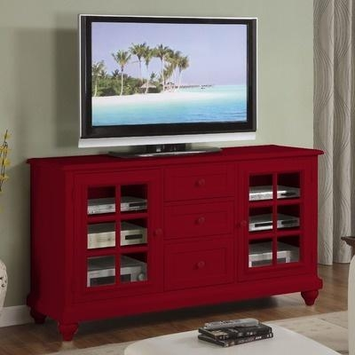 Best 25+ Red Tv Stand Ideas On Pinterest | Refinishing Wood Tables In Most Up To Date Red Tv Stands (Image 1 of 20)