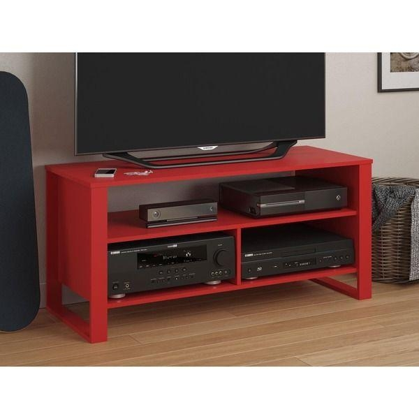 Best 25+ Red Tv Stand Ideas On Pinterest | Refinishing Wood Tables Intended For Most Popular Black And Red Tv Stands (Image 7 of 20)
