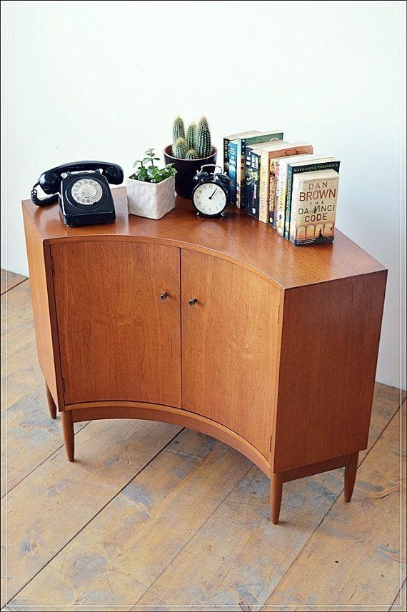 Best 25+ Retro Tv Stand Ideas On Pinterest | Mid Century Modern Within Newest Tv Stands Rounded Corners (Image 9 of 20)