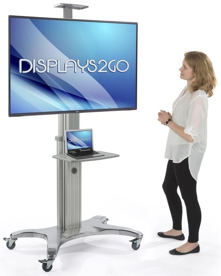 Best 25+ Rolling Tv Stand Ideas On Pinterest | Tv Table Stand Regarding 2017 Tv Stands For 70 Flat Screen (View 9 of 20)