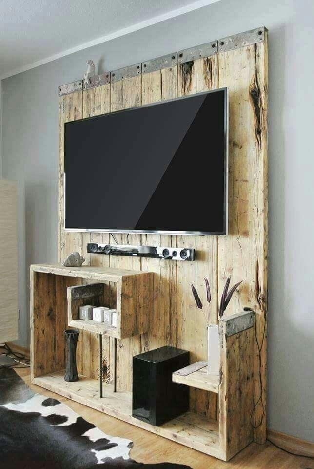 Best 25+ Rustic Entertainment Centers Ideas On Pinterest | Rustic In Newest Wood Tv Entertainment Stands (View 4 of 20)