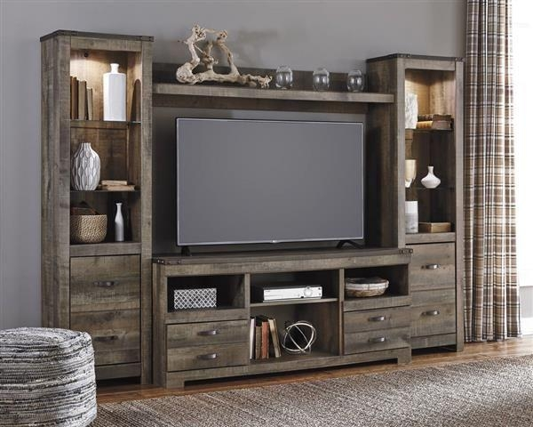 Best 25+ Rustic Entertainment Centers Ideas On Pinterest | Rustic Within 2018 Entertainment Center Tv Stands (Image 4 of 20)