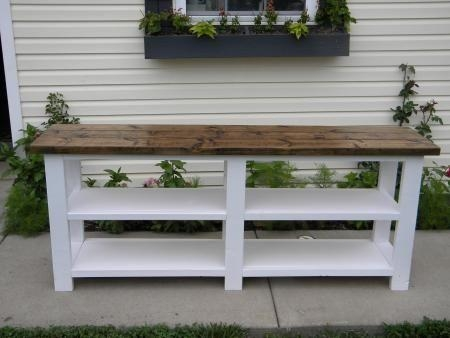 Best 25+ Rustic Tv Console Ideas On Pinterest | Rustic Tv Stands Throughout Latest White Rustic Tv Stands (View 8 of 20)