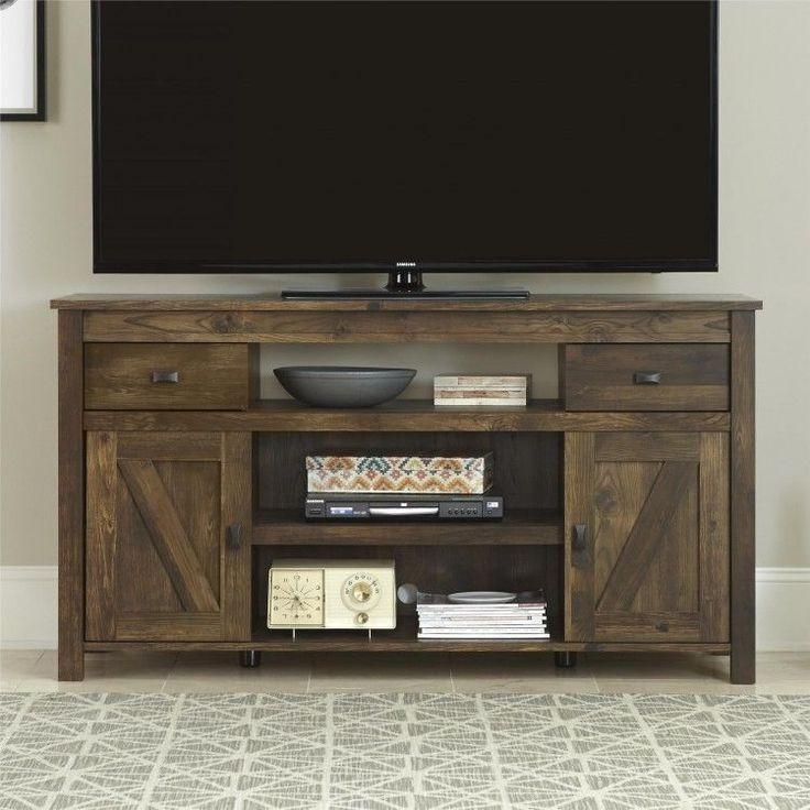 Best 25+ Rustic Tv Stands Ideas On Pinterest | Small Tv Stand For Most Up To Date 60 Cm High Tv Stand (Image 8 of 20)