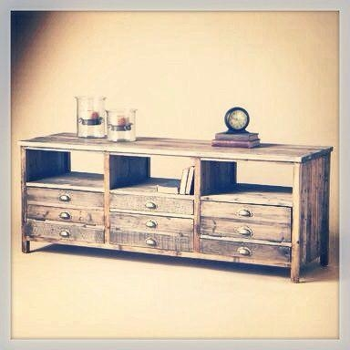 Best 25+ Rustic Tv Stands Ideas On Pinterest | Small Tv Stand With Most Popular Rustic Looking Tv Stands (View 5 of 20)