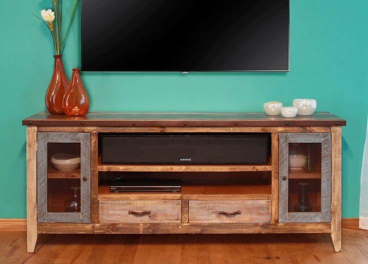 Best 25+ Rustic Tv Stands Ideas On Pinterest | Small Tv Stand With Regard To 2018 Rustic Wood Tv Cabinets (Image 9 of 20)