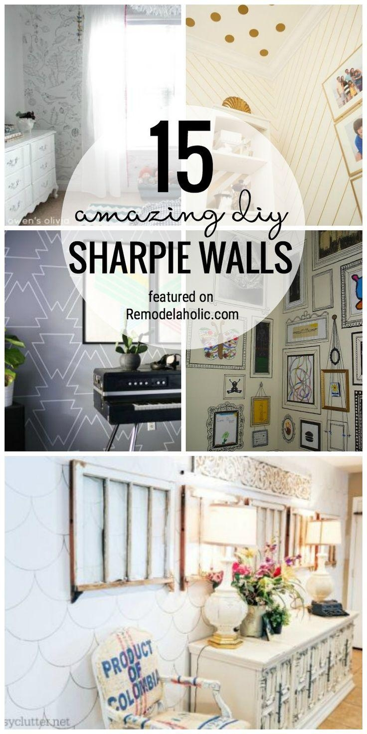 Best 25+ Sharpie Wall Ideas On Pinterest | Wall Paintings, Wall In Sharpie Wall Art (Image 4 of 20)