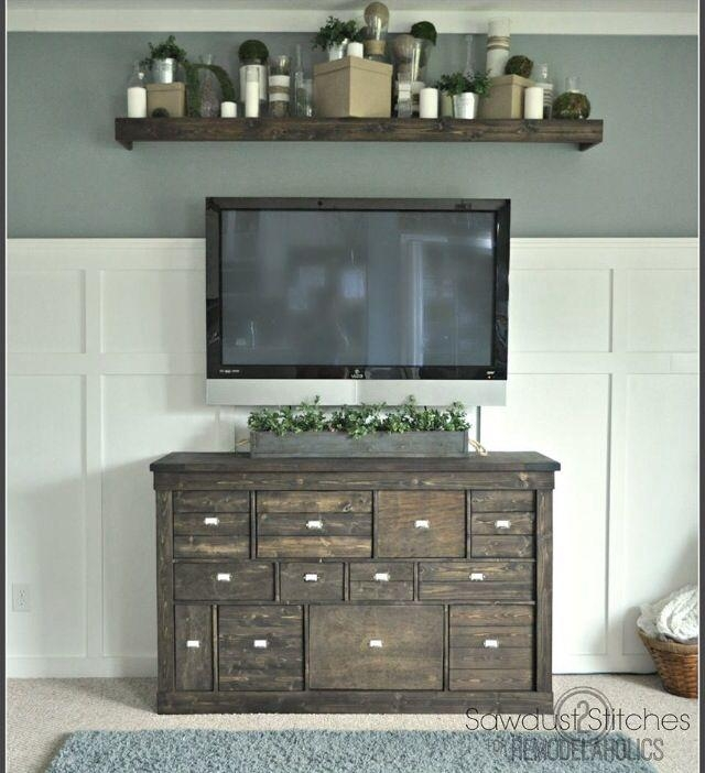 Best 25+ Shelf Above Tv Ideas On Pinterest | Above Tv Decor Regarding Latest Over Tv Shelves (Image 10 of 20)
