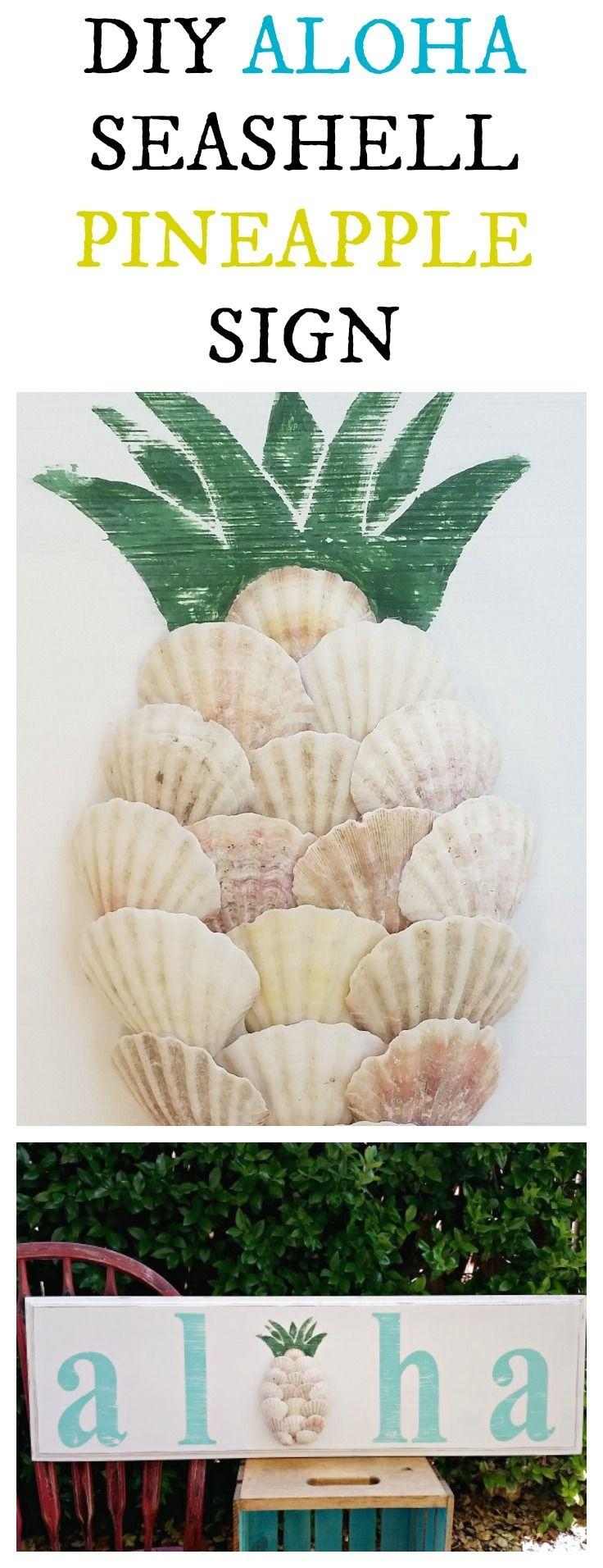 Best 25+ Shell Art Ideas On Pinterest | Shell Crafts, Seashell Art Inside Wall Art With Seashells (Image 7 of 20)