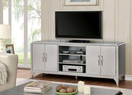 Best 25+ Silver Tv Stand Ideas On Pinterest | Acrylic Side Table Regarding 2018 Silver Tv Stands (Image 3 of 20)